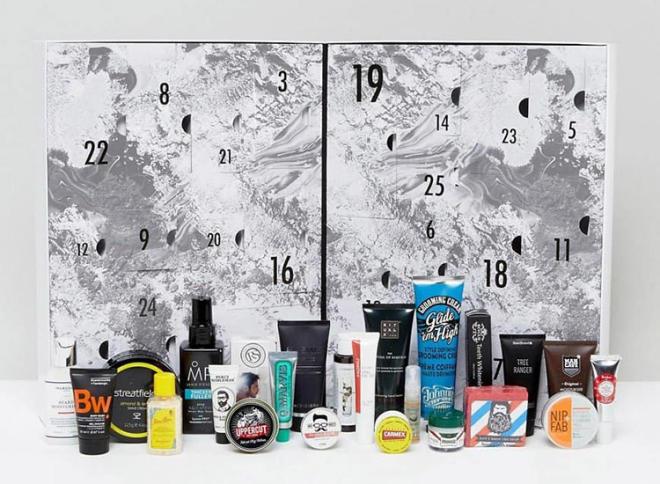 Coolest Advent Calendars | ASOS Men's Grooming Advent Calendar