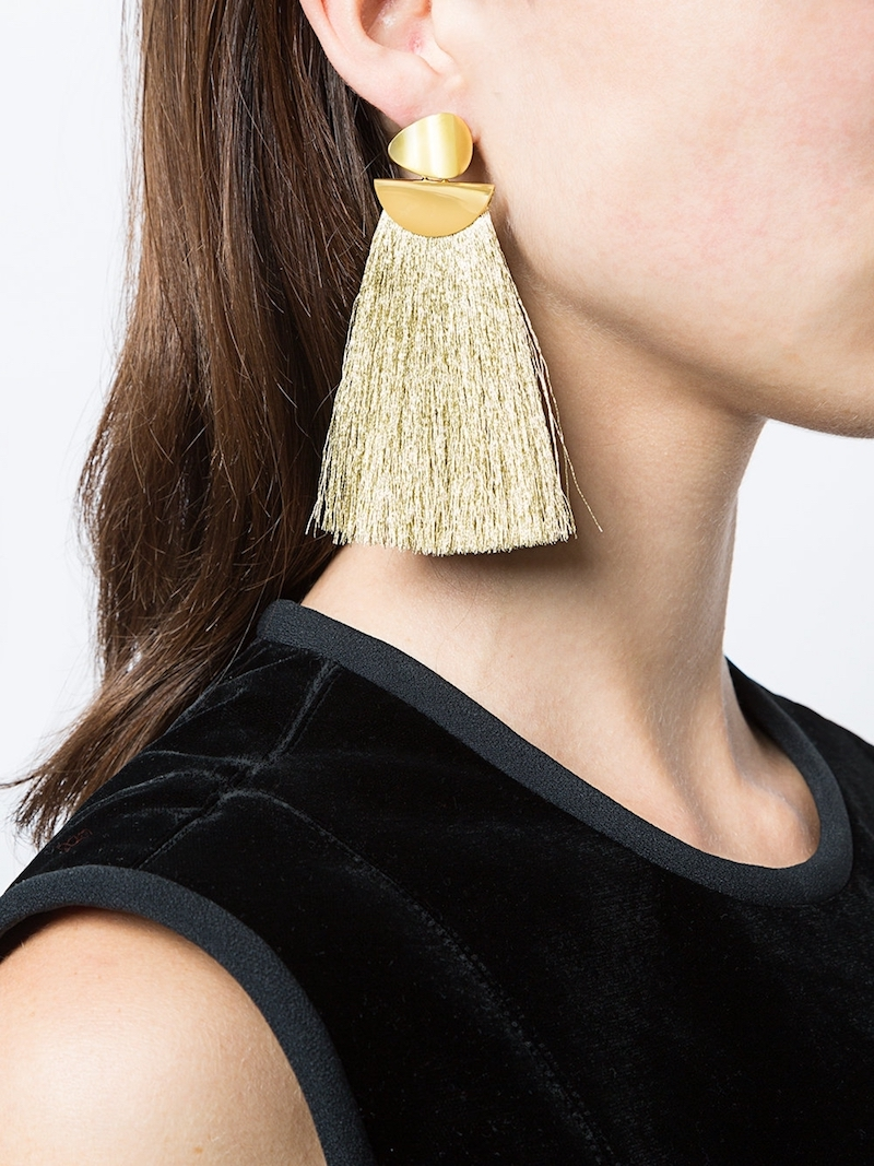 Lizzie Fortunado Tassel Earrings at Kirna Zabete: Cool Glam Gifts for your female BFF