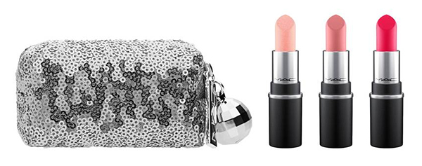Snowball mini MAC lipstick set at Sephora : Glam gifts for a female BFF