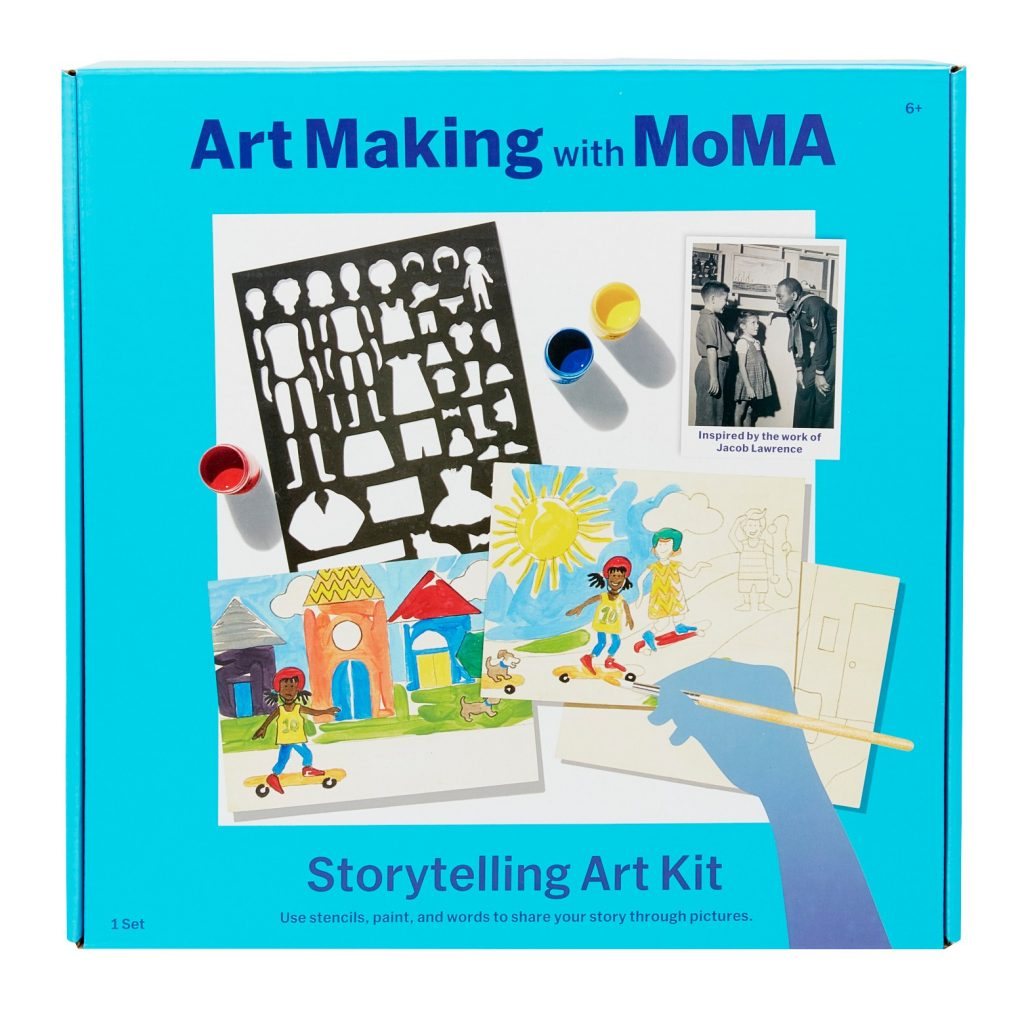 Art Making with MoMA Kits: Love this storytelling kit for creative kids!