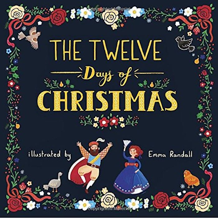 Best Christmas books for kids: The 12 Days of Christmas by Emma Randall