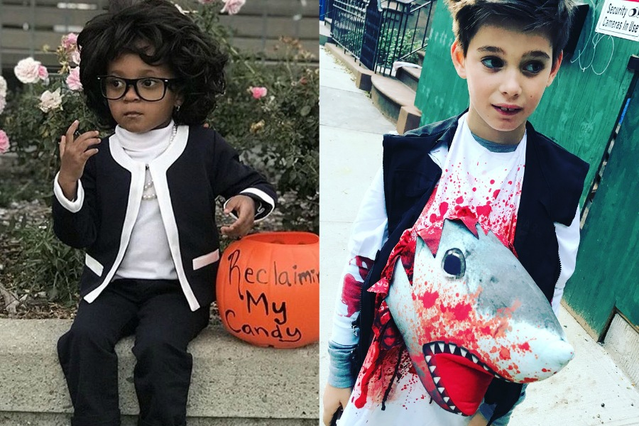 11 of the absolute best homemade kids' Halloween costumes of 2017.