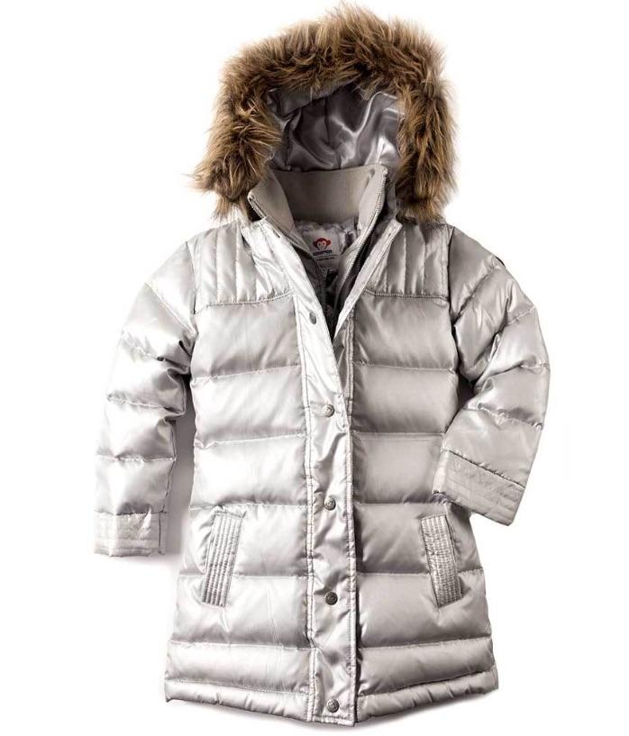 Warmest kids' winter coats: Long Down Coat by Appaman
