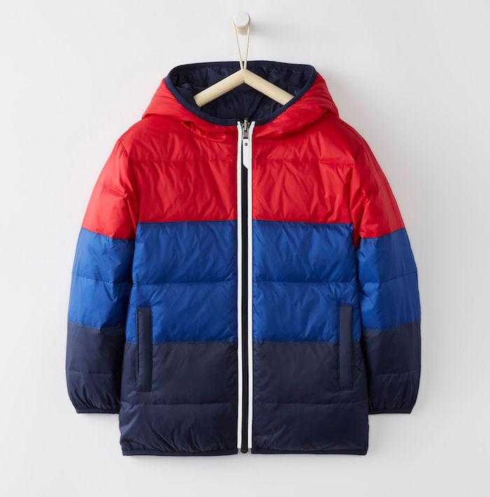 Warmest kids' winter coats: Warmest Reversible Down Coat by Hanna Andersson