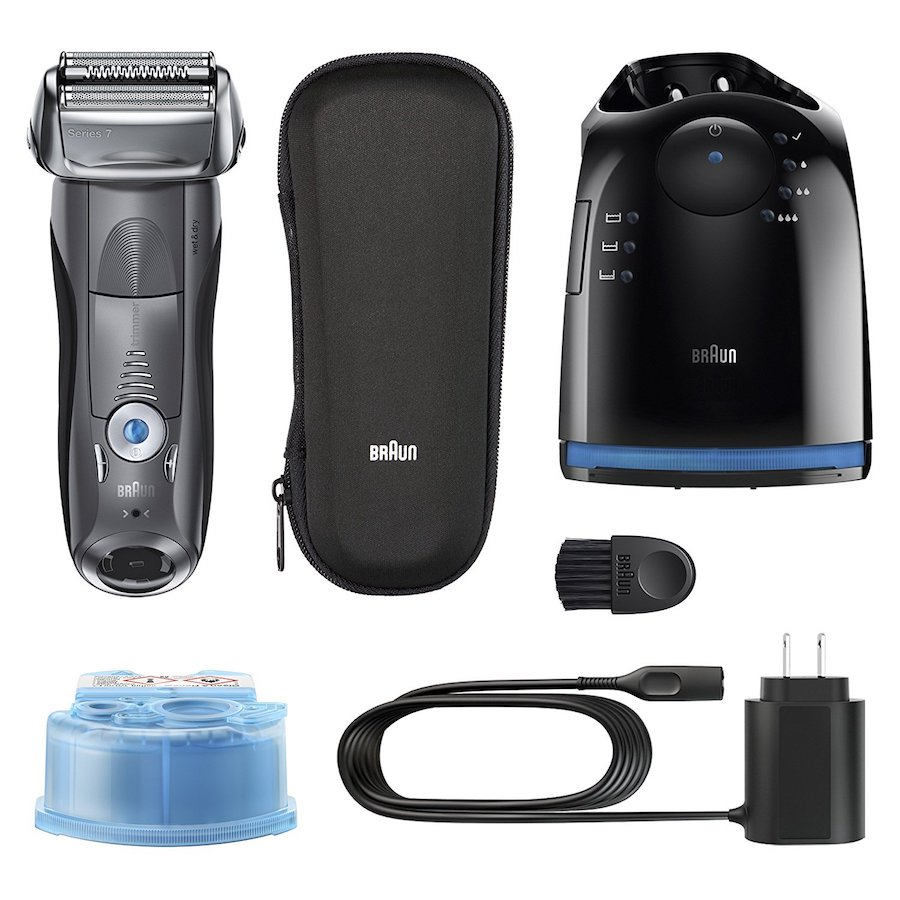 Top-rated Braun 7 Advanced Electric Shaving System| Coolest Men's Gifts | 2017 Holiday Gift Guide