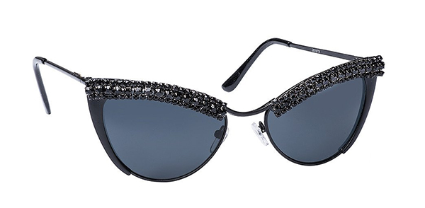 Rhinestone cat's eye sunglasses from a cool indie company: Glam gifts for your female BFF