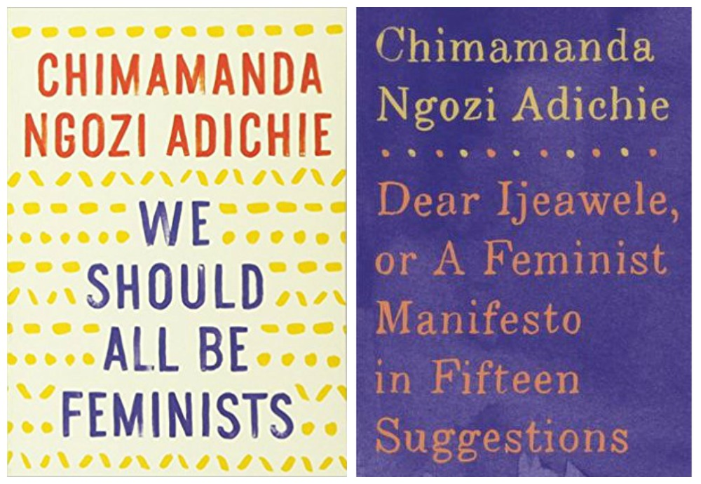 Cool feminist gifts: Chimamanda Ngozie Adichie book collection available at Bluestockings Bookstore