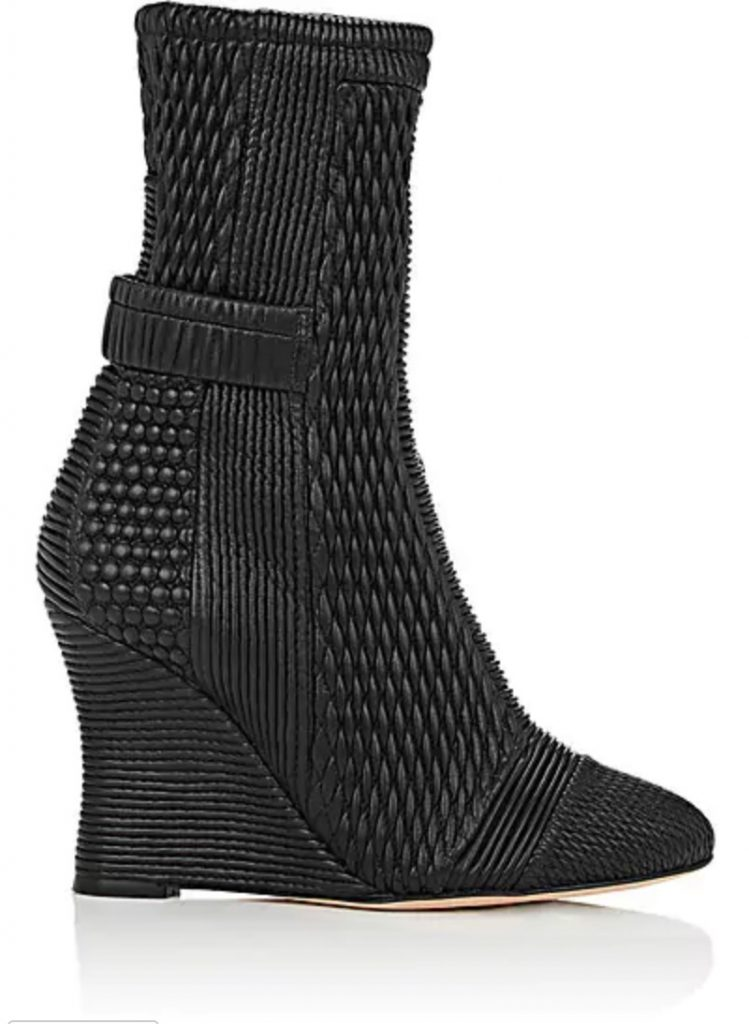 Achima di Ballin quilted leather boots on sale at Barney's. Ooh.