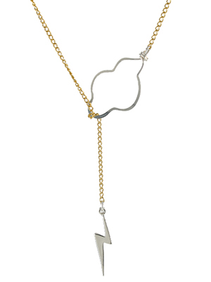 Cloud/lightning lariat necklace by Peggy Li | The coolest gifts of the year for tweens and teens