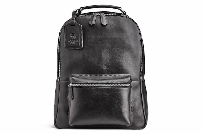 Soft distressed leather backpack in black or brown from Moral Code: Coolest Men's Gifts | 2017 Holiday Gift Guide