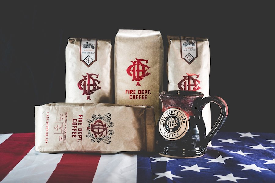 Fire Dept Coffee supporting fire department and military orgs: Coolest Men's Gifts | 2017 Holiday Gift Guide