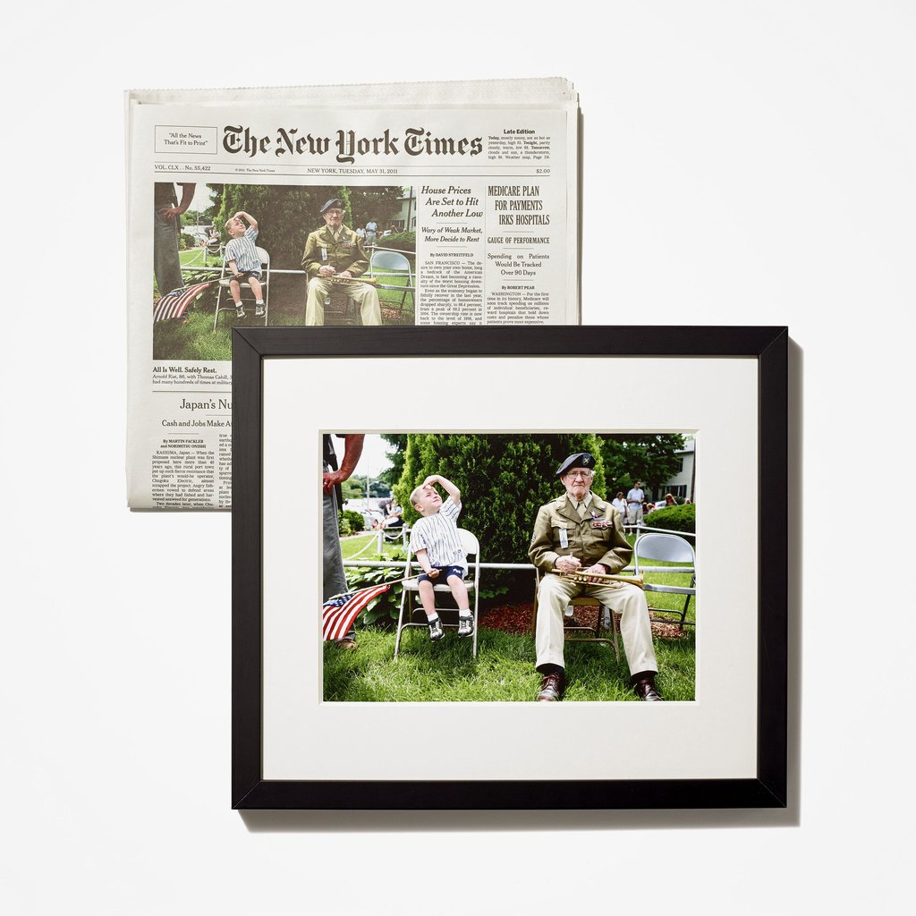 Get a reprint of any favorite photo from the NY Times archives. Whoa! : Coolest Men's Gifts | 2017 Holiday Gift Guide