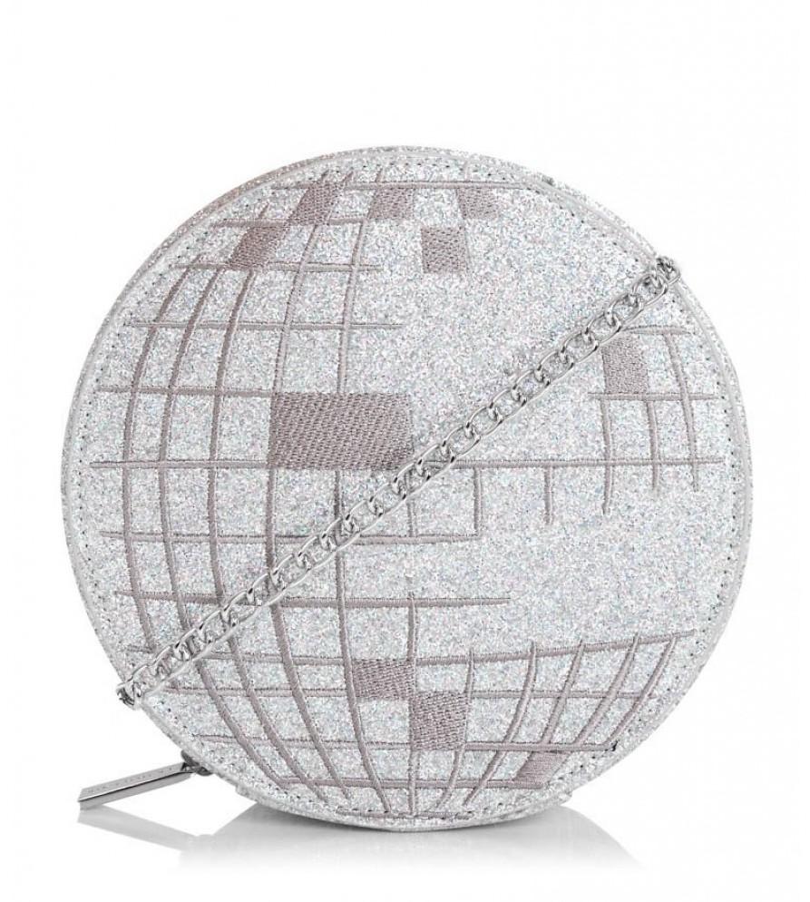 Sparkly disco ball mini handbag : Glam gifts for a female BFF