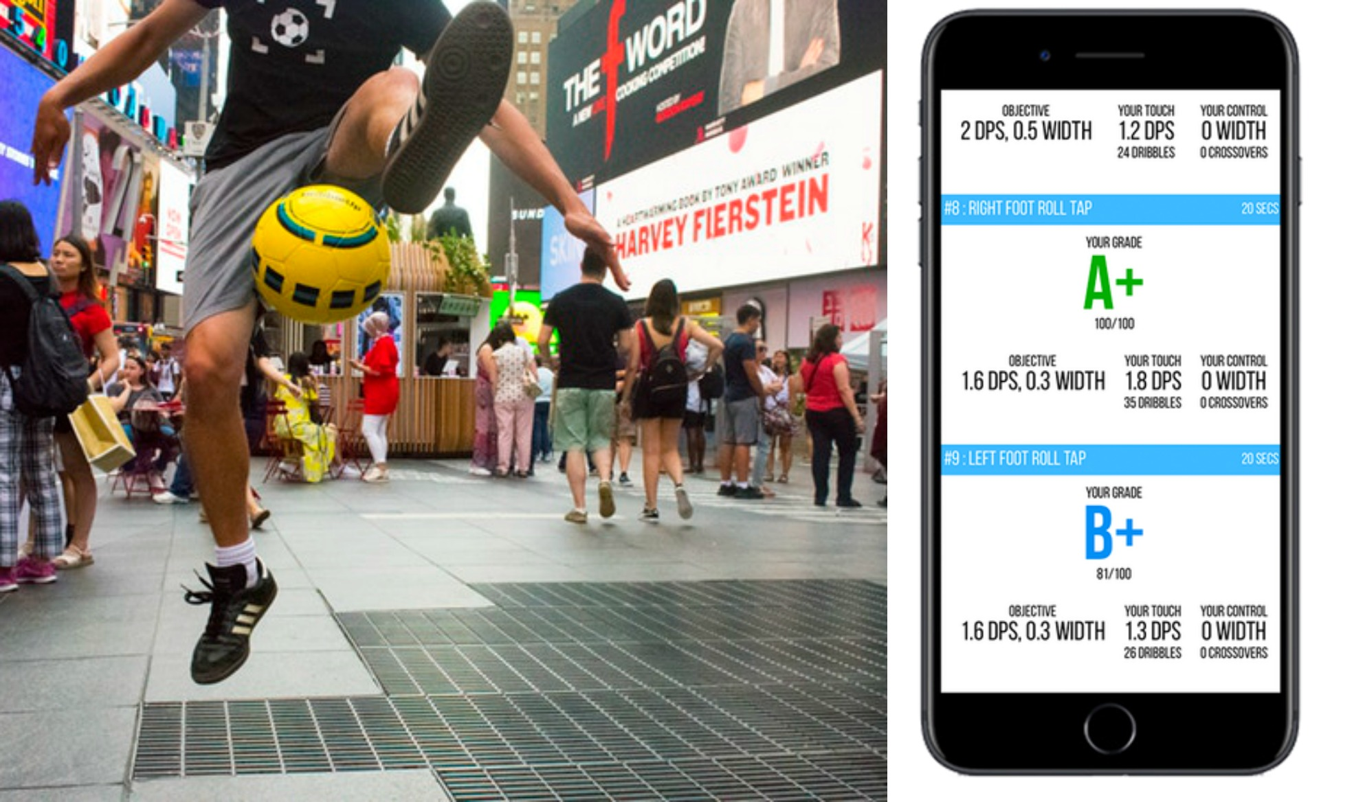 DribbleUp Smart Soccer Ball or Basketball with companion app | The coolest tween gifts