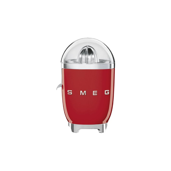 Classic vintage style electric SMEG juicer...and a crate of Honeybelles! | Coolest Men's Gifts | 2017 Holiday Gift Guide