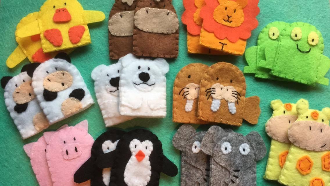 Stocking stuffer ideas for kids under $5: Finger puppets