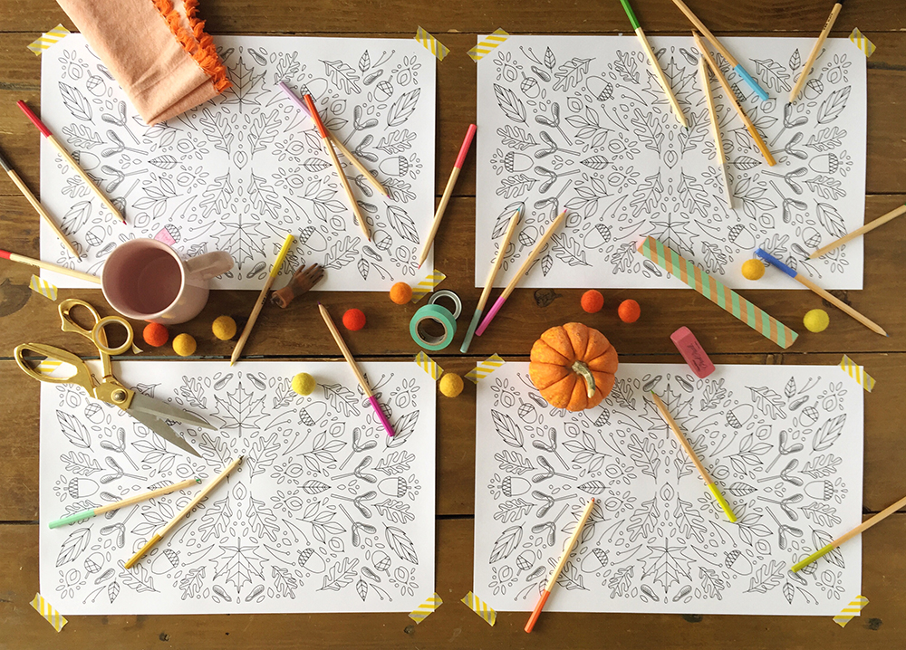 Thanksgiving activity printables: Thanksgiving Coloring Printable | The House that Lars Built