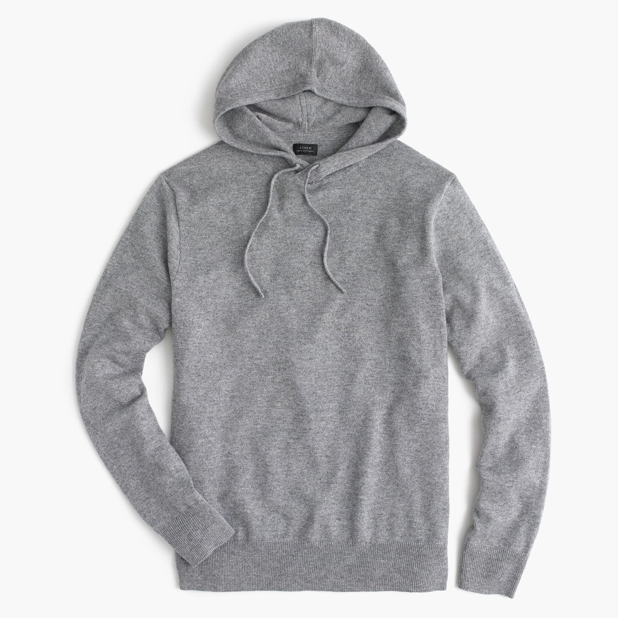 Gorgeous soft cashmere-cotton men's hoodie from JCrew | Coolest Men's Gifts | 2017 Holiday Gift Guide