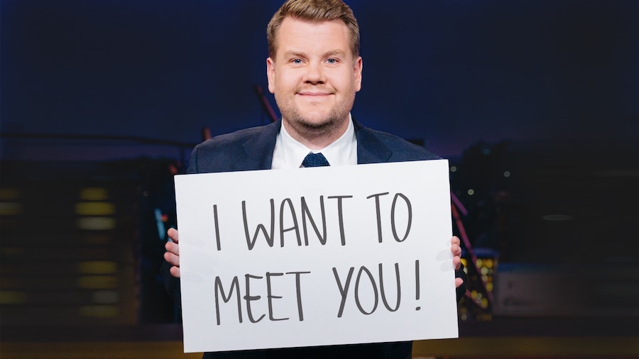 Enter to win a VIP meet and greet with James Corden to raise money for charity! : Coolest men's gifts | Holiday Gift Guide 2017