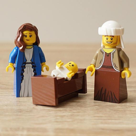 Modern nativity sets: LEGO nativity set | My Lego Ideas