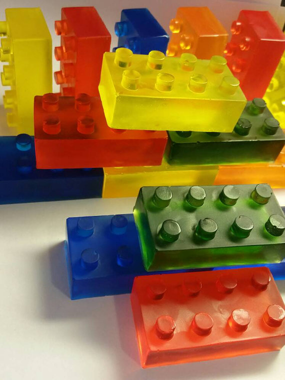 Stocking stuffer ideas for kids under $5: LEGO soaps