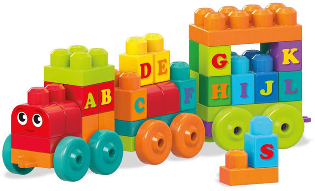 Fun building sets for kids: ABC Train | Sponsor