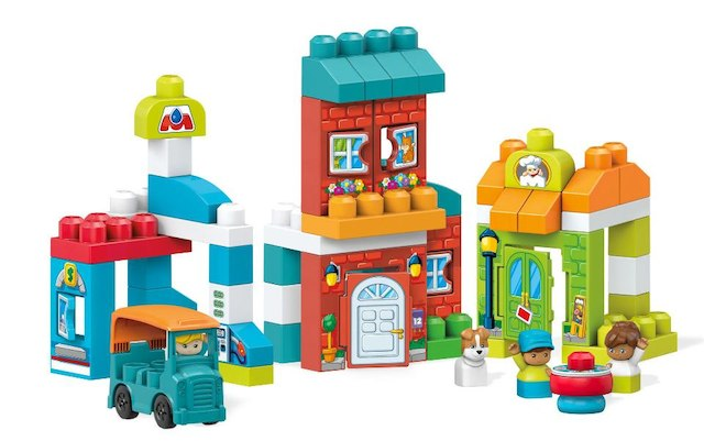 Building sets for kids: Main Street Friends | Sponsor