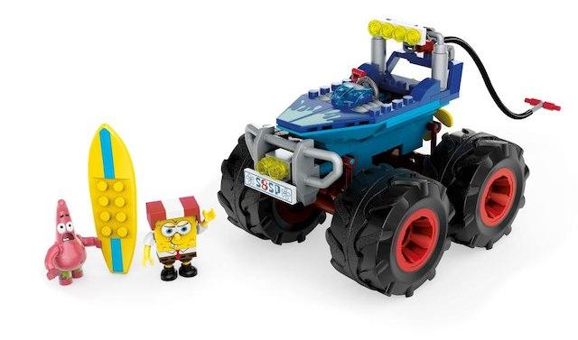 Fun building sets for kids: SpongeBob Rally | Sponsor