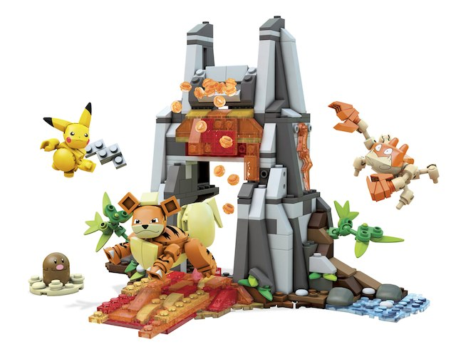 Fun building sets for kids: Pokémon Volcano | Sponsor