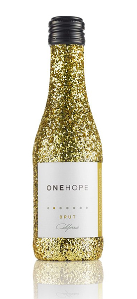 Cool holiday gifts for your glam BFF: 12-bottle mini sparkling Brut case from ONE HOPE wines