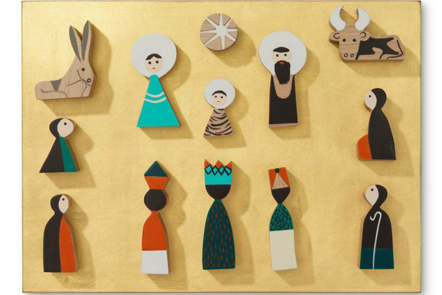 8 of the coolest modern nativity sets that belong on your own mantel, not your grandma's.
