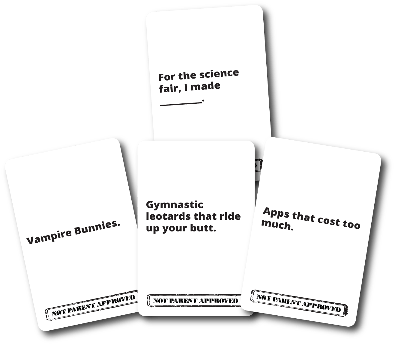 Not Parent Approved: Like Cards Against Humanity...for kids! | The coolest tween gifts