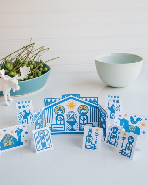 Modern nativity sets: Printable nativity set | Rob Wilson for Sweet Paul