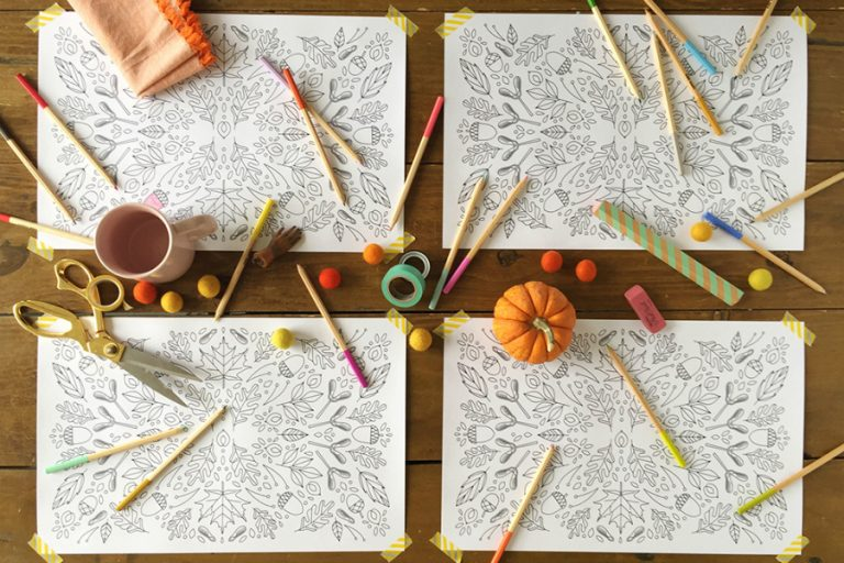 7 Thanksgiving activity printables to keep kids busy before turkey