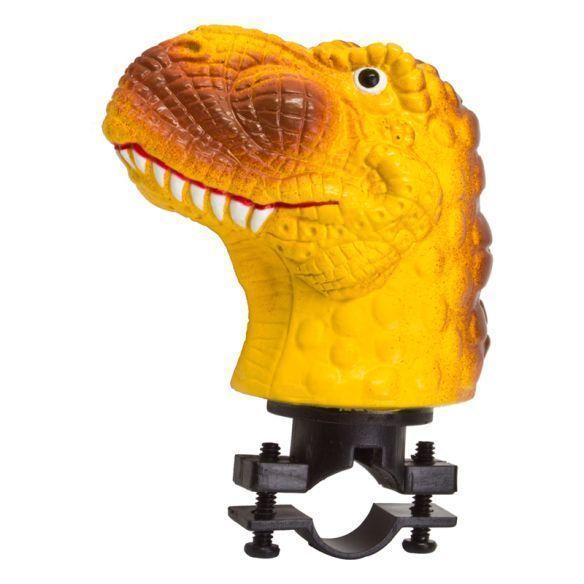 Squeezable T-Rex bike horn: Cool kids' stocking stuffer ideas