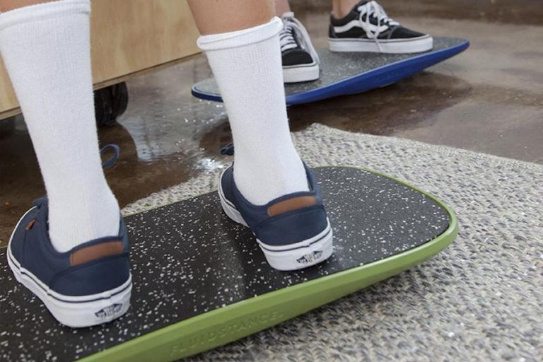 When it's too cold to go outside, this board lets kids take the action indoors. (Don't panic, parents!)