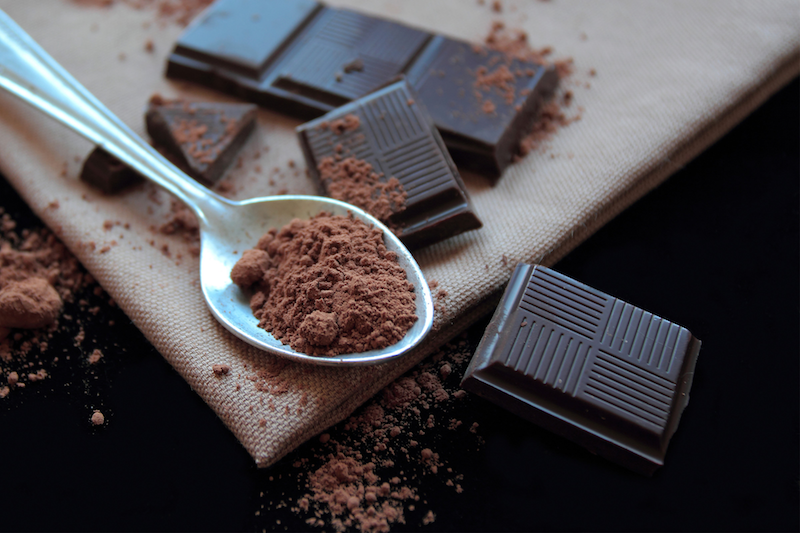 How the antioxidants in dark chocolate help with aging skin