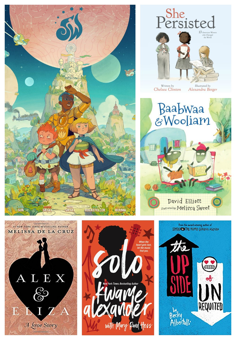Best children's books of 2017: Selections by Brightly readers