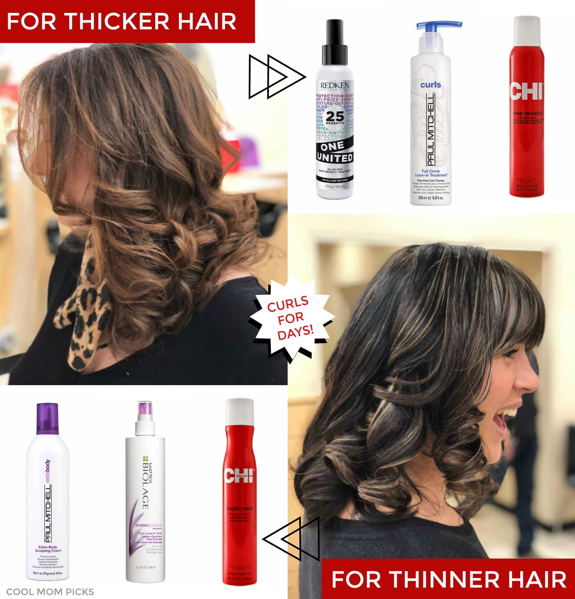 The best products to help keep your curls, whether you have thick or thinner hair | Cool Mom Picks