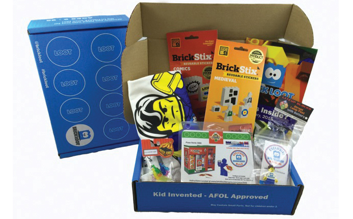 BrickLoot subscription box for LEGO fans of all ages