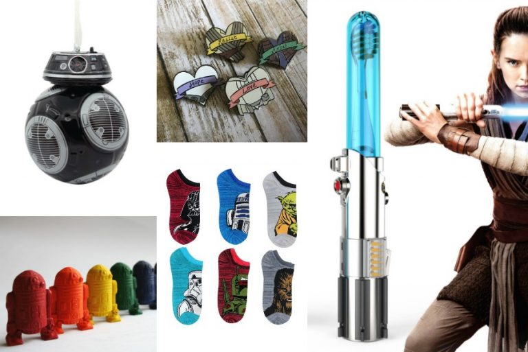 16 of the coolest Star Wars stocking stuffers, all Last Jedi-approved.