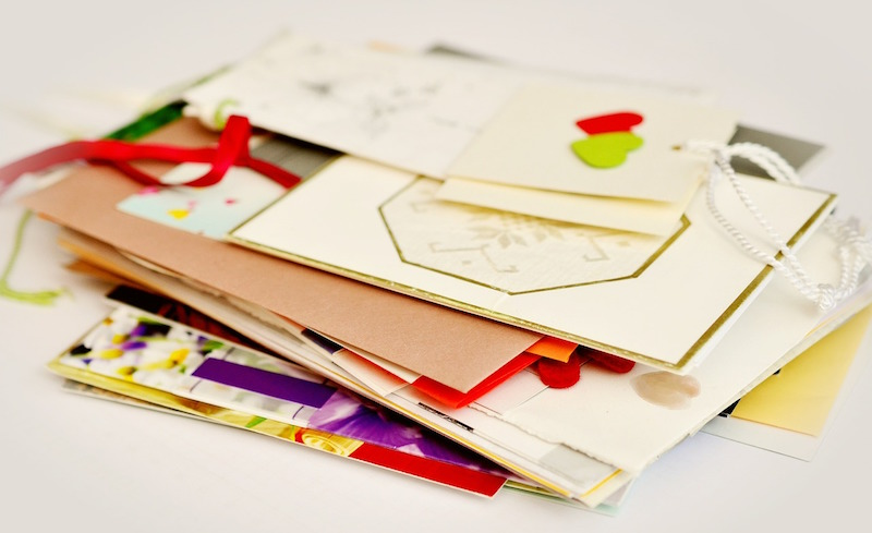 Donate holiday cards to kids in need