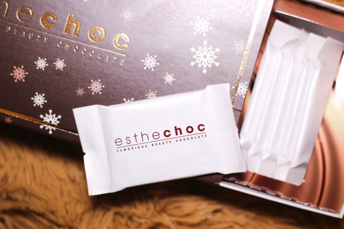 Aging skincare tips: Esthechoc is a beauty chocolate packed with powerful antioxidants for proven results. And it's chocolate! | sponsor
