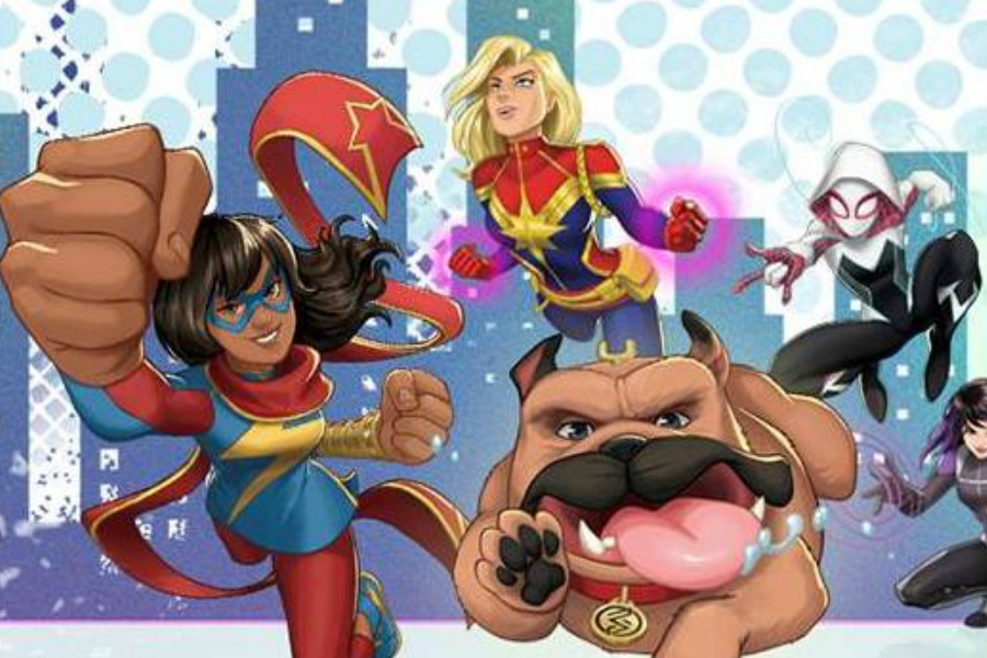Why the new Marvel Rising: Secret Warriors is helping more kids see themselves as the superheroes the world needs
