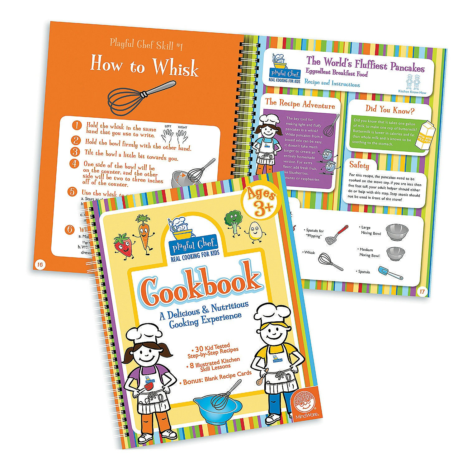Playful Chef Cookbook: One of the gifts you can buy to make the holiday of a US child in need or in foster care through Daymaker