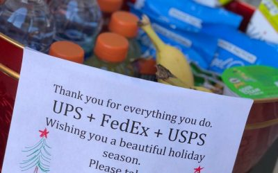 Can you give a postal carrier a gift or tip? The guidelines and some great ideas.