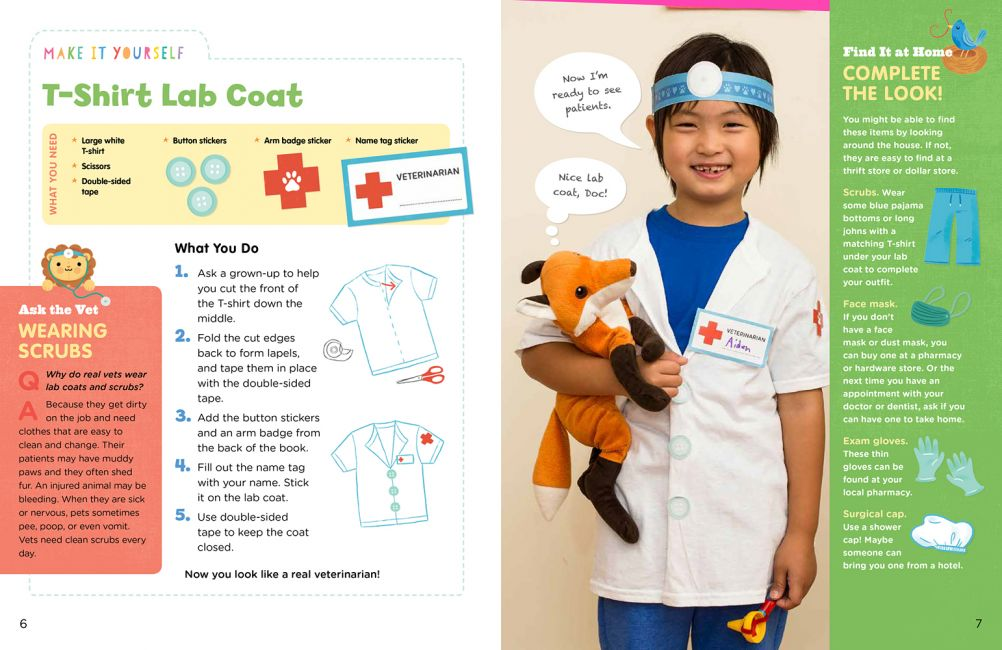 Teddy Bear Doctor Activity Kit: One of the gifts you can buy to make the holiday of a US child in need or in foster care through Daymaker