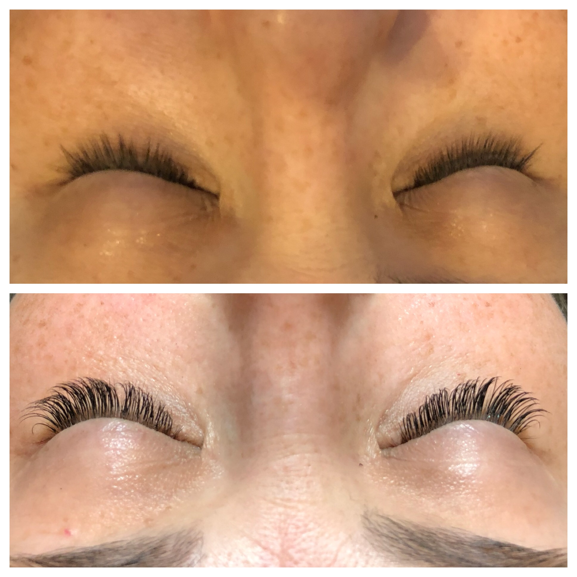 Everything you wanted to know about eyelash extensions: Before and After