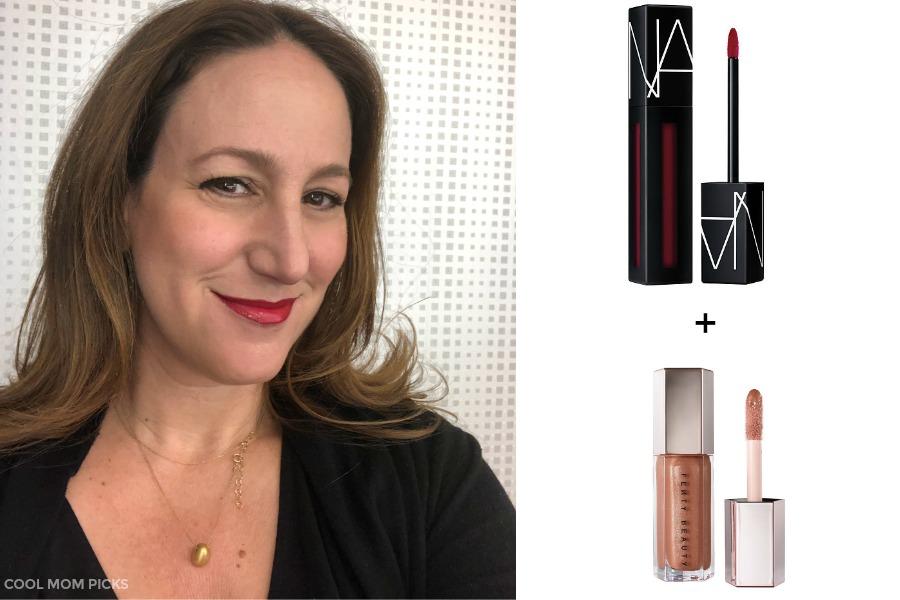 The perfect lips: Nars Powermatte in Under My Thumb + Fenty Lip Bomb Gloss   Cool Mom Picks