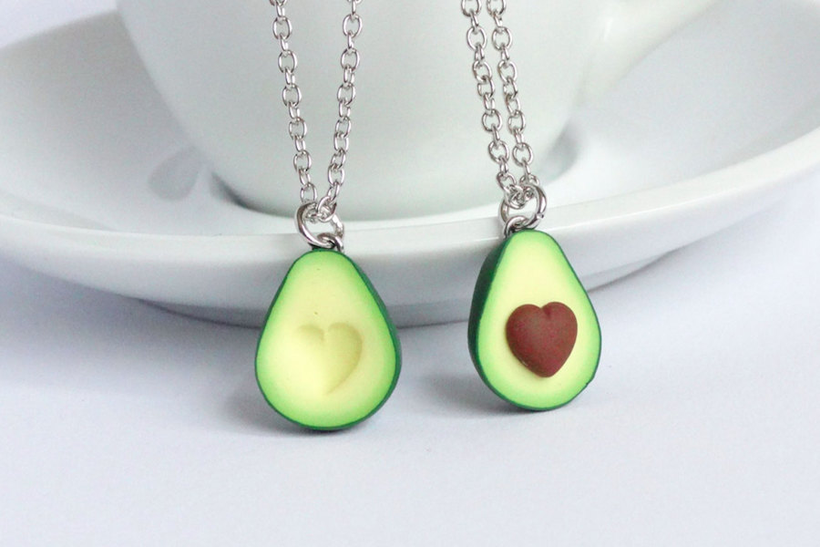 Cheap Cool Stuff >> Fun, modern best friend necklaces that go beyond the heart split in two.